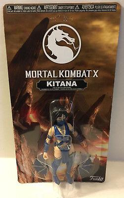 Mortal Kombat X Kitana Funko Toy Action Figure 5.5