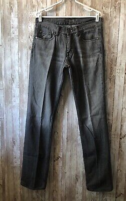 ACNE Men's Storlek Mic Blacktrash Jeans Size 33x34