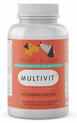 Best Dog Vitamin – #1 for Multivitamin, Nutrients, Calcium, Digestive Enzymes