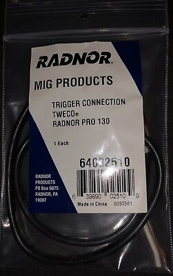 Radnor Tweco Trigger Connection For Pro 130 Series Welding Mig Gun