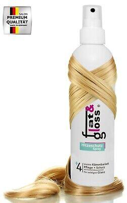 Hitze-schutz-spray (Hitzeschutzspray pflegt & schützt das Haar + Keratin - 250ml Heat Protect Spray)