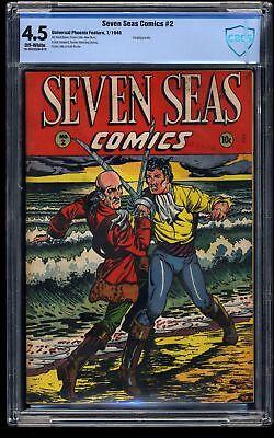 Seven Seas Comics #2 CBCS VG+ 4.5 Off White