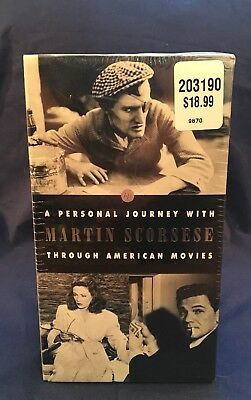 """RARE *NEW, SEALED* A Personal Journey w. Martin Scorsese VHS """"Century Of Cinema"""""""