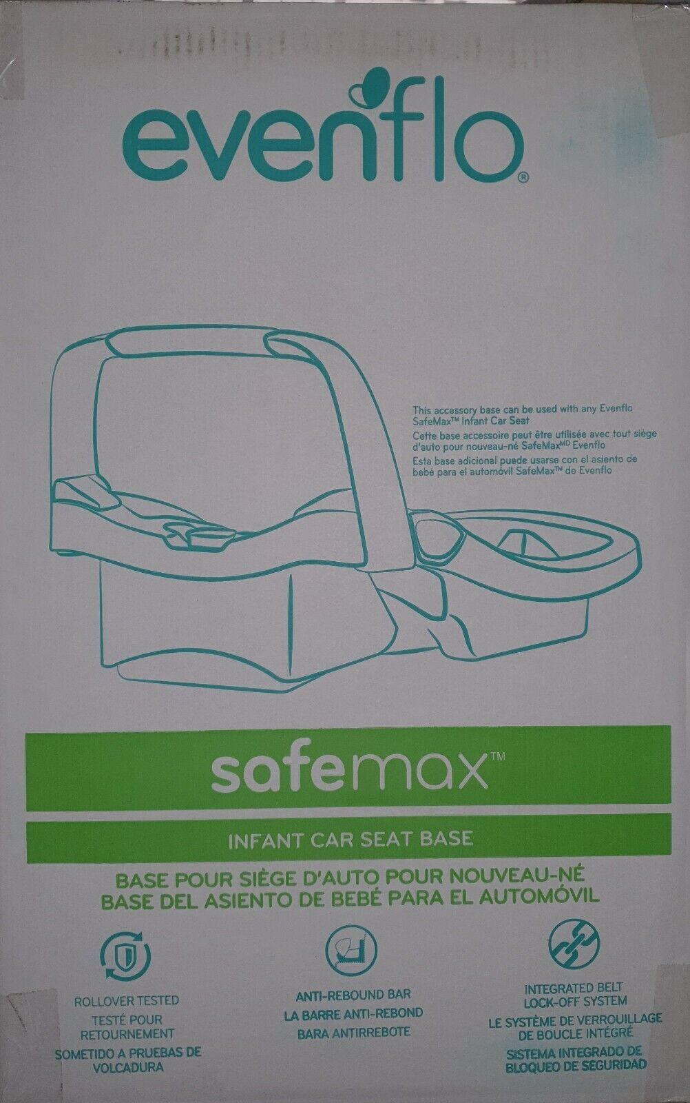 Evenflo 873644 SafeMax Infant Car Seat Base