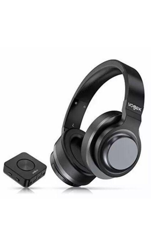 Wireless TV Headphones, Vogek Bluetooth TV Headset with Bluetooth Transmitter