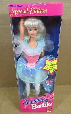 """Used, Mattel """"Tooth Fairy"""" Barbie Doll Blonde Walmart Special Edition NEW In Box (15) for sale  Shipping to India"""