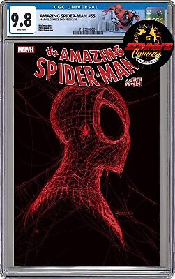 Amazing Spider-Man #55 Patrick Gleason Blue 3rd Print NM Marvel 2021