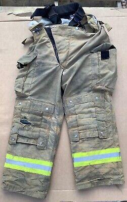 Lion Janesville Turnout Bunker Pants Fire Fighting Firefighter Gear 38r
