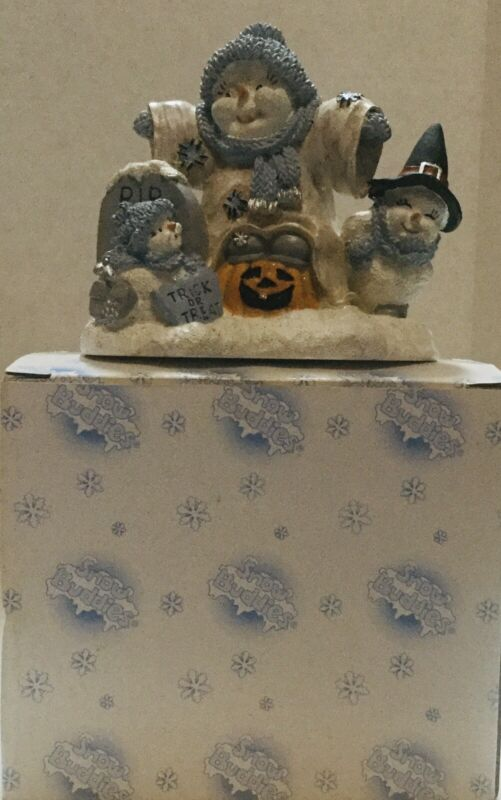 Encore Group Snow Buddies Boo Buds Figurine Halloween Ghouls Ghosts & Goblins