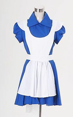 Alice In Wonderland Alice Blau Rock Cosplay Kleid Festa Halloween Damen (Blaue Halloween Kostüme)