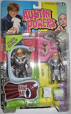 Mcfarlane Toys Austin Powers Moon Mission Talking Mini Me Figure Dr Evil Movie