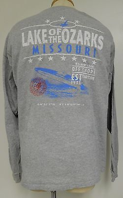 LAKE OF THE OZARKS SUPER BOAT RACING MISSOURI MIDWEST COAST OFFSHORE SIZE 2XL