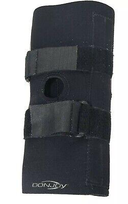 DonJoy Hook & Fasten Knee Brace Support Leg Neoprene Knee Pain Size Small Lateral Knee Pain
