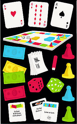 Stickers Dice - Mrs. Grossman's Giant Stickers - Games - Cards, Board, Tokens, Dice - 2 Strips