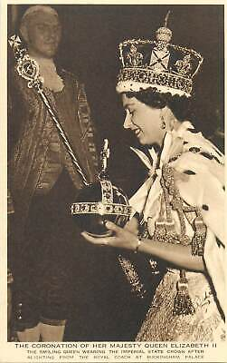 Queen Crown And Scepter (Queen Elizabeth II coronation british royalty royal crown and)