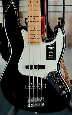 Fender Player Series Jazz Bass Electric (Black,Maple) FREE Shipping