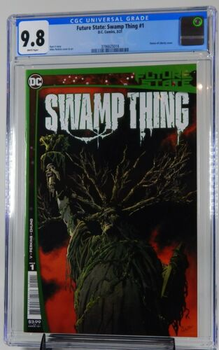 Swamp Thing #1 CGC 9.8 Future State NM/MT Cover A