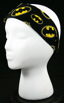 Bat-Man headwrap/headband - US Veteran - Bat Headband