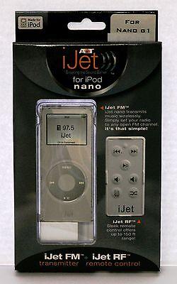 iJet Wireless Remote Control for iPod Nano - White Ipod Nano Remote