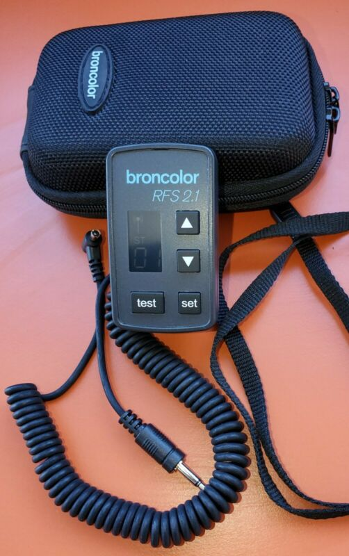 Broncolor RFS 2.1 Transceiver - Free Shipping!!!