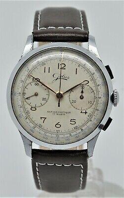 Vintage Jolus manual wind chronograph gents watch.