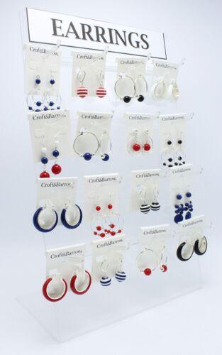 96 Pairs New Wholesale Croft & Barrow Summer Earrings  #96ER-1
