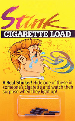 STINK CIGARETTE LOADS GAG GIFT TRICK PRANK 6 PACK JOKES  - Jokes Gags