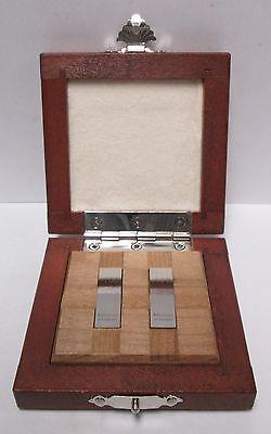 Mitutoyo 516-805 - 2 Pc Set Inch Rectangular Gage Block Set