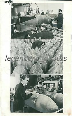 1938 Wwii Fortifications Along The Rhine Siegfried Line Original News Service Ph