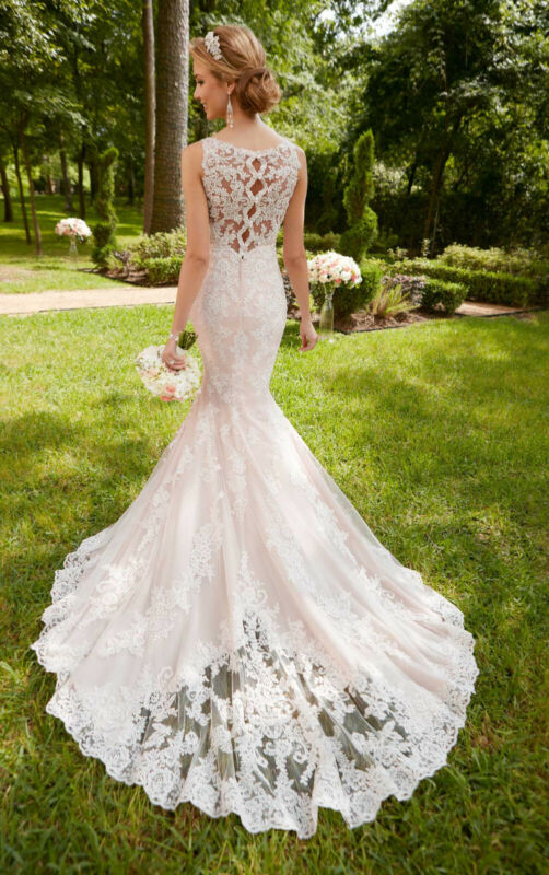 (Listing #5) Stella York Lace Bridal Gown, Style #6343, Size 12 US (NEW)