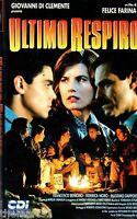 Ultimo Respiro (1992) Vhs Cdi Video 1a Ed. Felice Farina Federica Moro -  - ebay.it