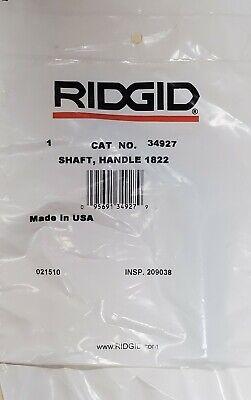 Ridgid Model 1822-i Shaft Handle 34927
