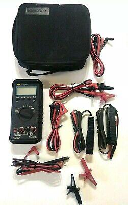 Tektronix Tek Dmm249 W Original Carrying Case Accessories Used Works