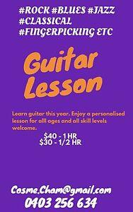 Guitar Lesson $30 Fig Tree Pocket Brisbane North West Preview