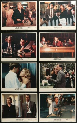 THE HOUSE ON CARROLL STREET Kelly McGilis SET 8 ORIGINAL 1988 MOVIE LOBBY CARDS