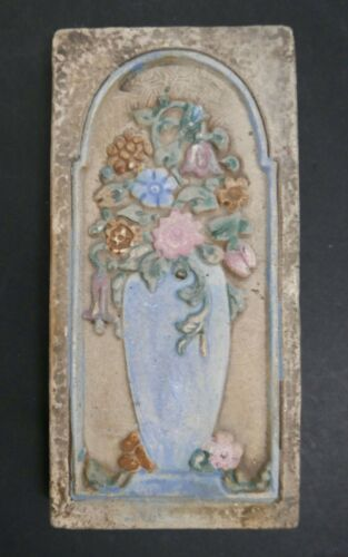 Floral Tile Claycraft Vintage California