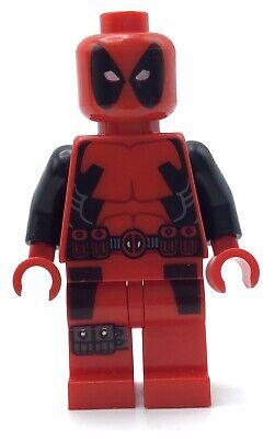 LEGO DEADPOOL MINIFIGURE SUPER HEROES FIGURE RARE AUTHENTIC