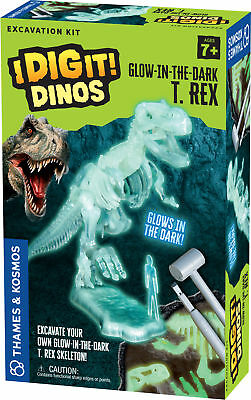 I Dig It! Dinos - Glow-in-the-Dark T. Rex Excavation - Dino Excavation Kit