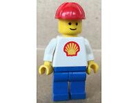 LEGO® Town Classic Bauanleitung 604 Shell Auto ungelocht instruction B2032