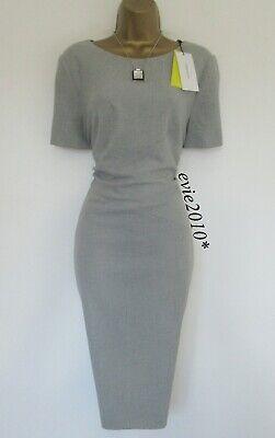 BNWT Karen Millen Tailored Dress size UK 16 Light Grey Lined Business...