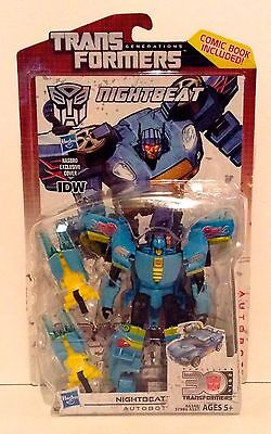 Transformers Generations 30th Anniversary Deluxe Class NIGHTBEAT MOC NEW