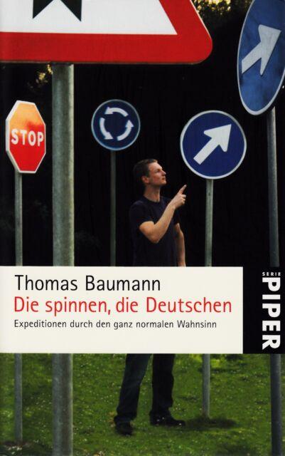 *r~ Die SPINNEN, die DEUTSCHEN -  von Thomas BAUMANN tb  (2007)