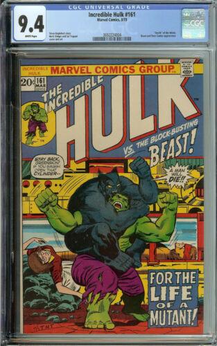 Incredible Hulk 161 CGC 9.4 WP