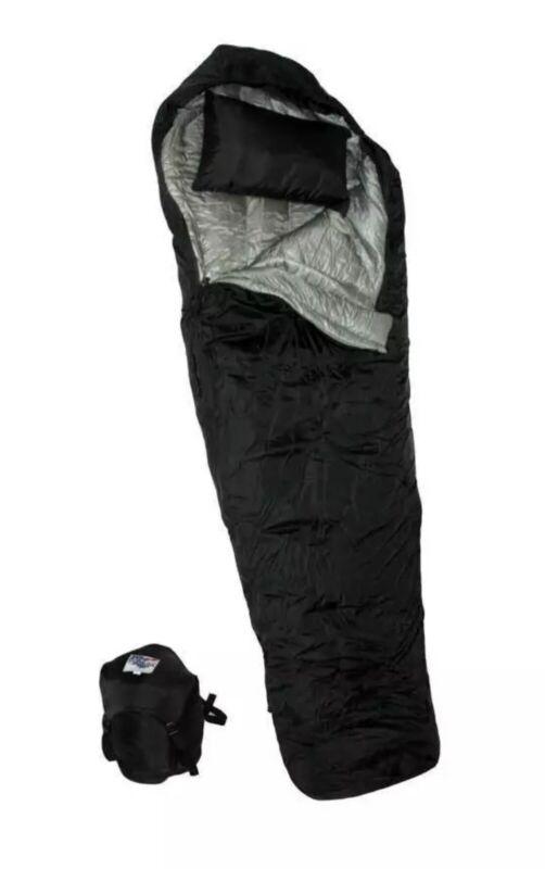 WIGGY'S LAMILITE Insulated Sleeping Bag Ultralight  20° Black XLarge Navy Seal