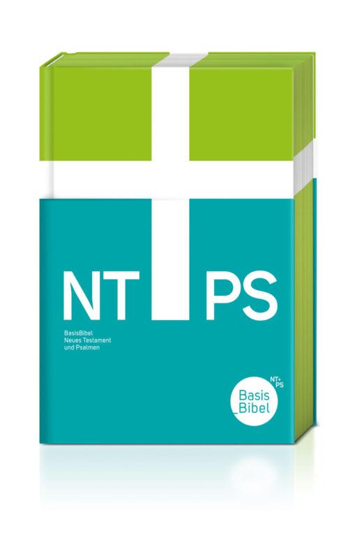 BasisBibel - NT+PS - Neues Testament und Psalmen, flexibler Einband hellgrün  B