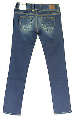 Pepe Jeans London Gen Straight w26-w29 l32 Pantalon Femmes Stretch Denim Light Blue