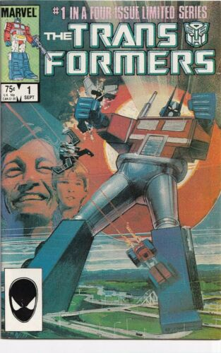 Transformers #1 (1984) Marvel Comics First Transformers VF