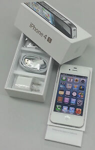 Apple iPhone 4S 64GB White Factory Unlocked Any GSM Sim ATT, Tmobile World Phone