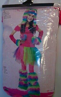 Fun World Girls' Little Monster Child Costume Small (4-6) - Little Girl Monster Costume