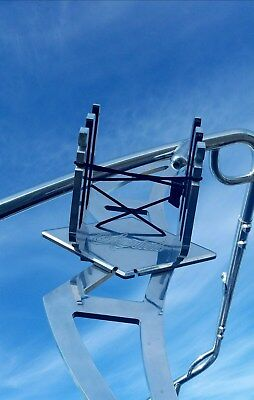 Aerial Assault Wakeboard Tower Rack - Polished Aluminum BT-ASURCK-PA